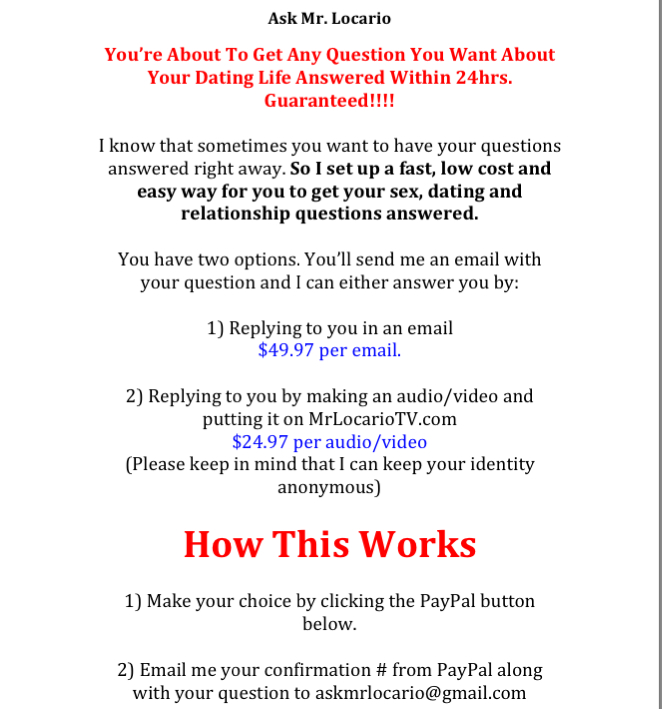 Ask 1 copy