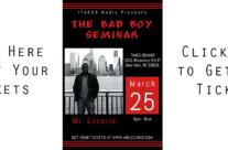 The Bad Boy Seminar